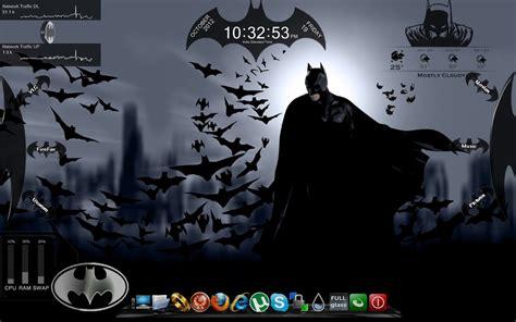 themes for windows 7 joker batman ultimate windows7 rainmeter theme