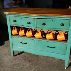 re purposed dresser turned into a coffee bar projects to
