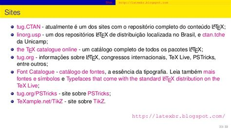 tutorial latex tug tutorial latex 2011