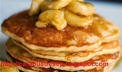 membuat pancake pisang tanpa tepung cara membuat pancake pisang telur resep masakan indonesia