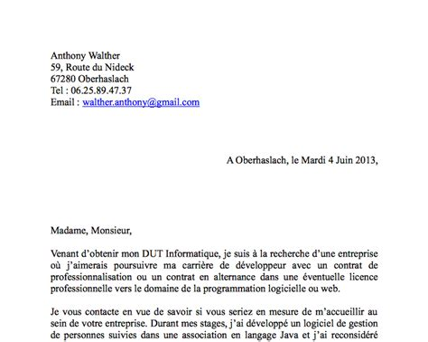 Lettre De Motivation De Titularisation Modele Lettre De Motivation Pour Etre Ash Document