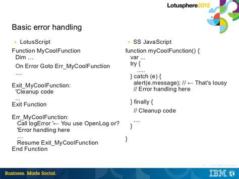 javascript on error resume next resume ideas