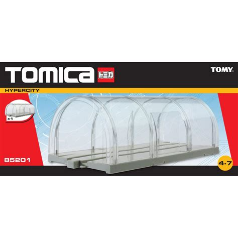 tomy tomica hypercity clear tunnel
