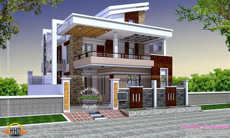 36x62 decorative modern house in india kerala home house models plans philippines bungalow type elegant