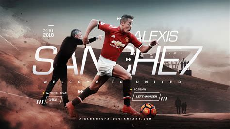 alexis sanchez united alexis sanchez 7 manchester united wallpaper hd 2018