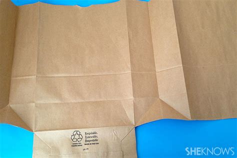 How Do You Make A Paper Bag Book Cover - diy paper bag schoolbook covers