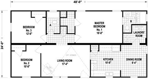 Cambria 24 X 48 1152 Sqft Mobile Home Factory Expo Home 30x60 Barn Home Floor Plan