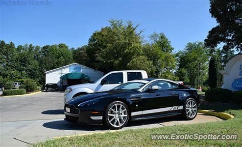 Aston Martin Carolina by Aston Martin Vantage Spotted In Cornelius Carolina