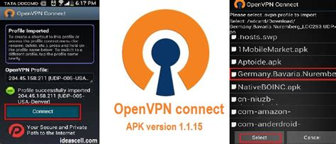 free openvpn connect apk 1 1 15 for android