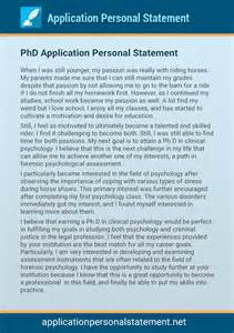 Cover Letter For Phd Application by Sle Personal Statements For Phd Applications Cover