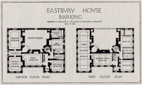 manor house floor plan eastbury manor floor plan english french manor house