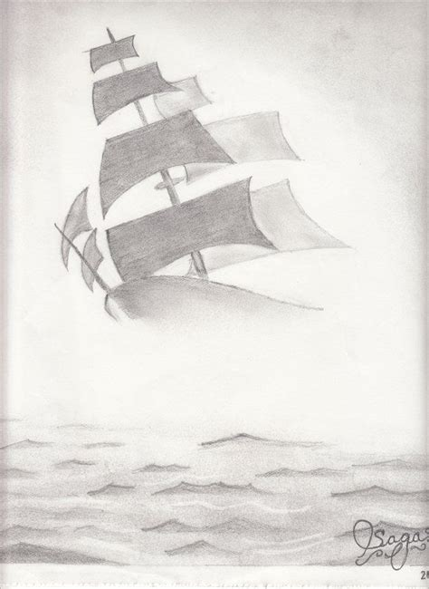 boat drawing ideas boat in water fog illustration tmp for shoes pinterest