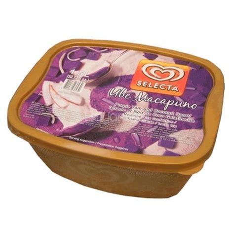 selecta ice cream 1 5 l ube macapuno flavor