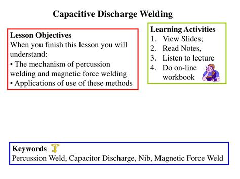 capacitor discharge procedure capacitor discharge procedure 28 images capacitor discharge welding stud cd weld stud of