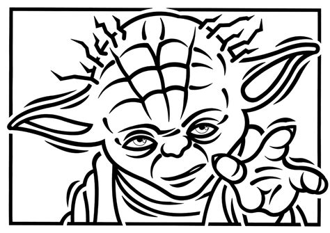 coloring pages yoda yoda mono by paulmcinnes on deviantart