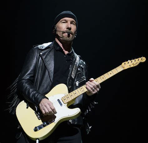 Band Guitarist the edge