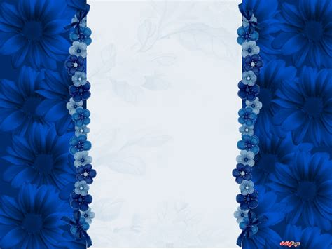 pretty wall paper pretty blue flowers blogger layout template blog