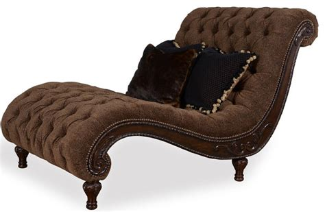 Indoor Chaise Lounge Chairs Furniture Accents Cheetah Chaise Traditional Indoor Chaise Lounge Chairs By