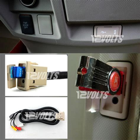 Toyota Innova Original Headunit Mundur Input in car usb audio aux extension cable for toyota vehicles cool stuff