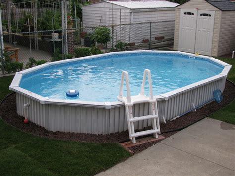 Semi Inground Pool Semi Inground Pool Installations