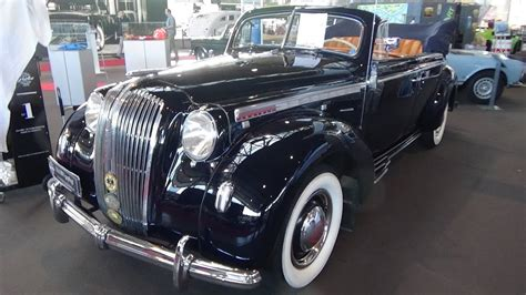 opel admiral interior 1939 opel admiral cabriolet exterior and interior