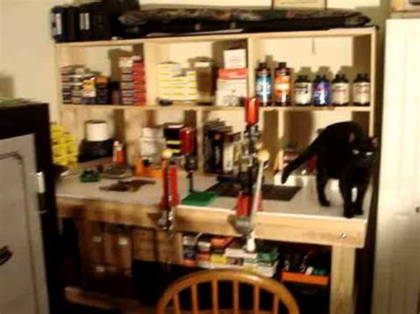 set up bench reloading bench set up youtube