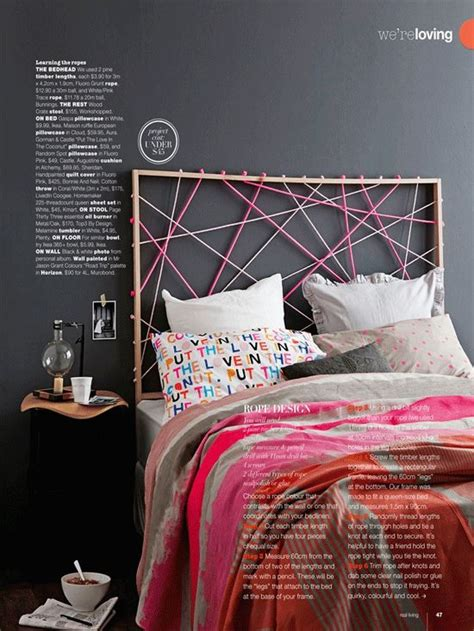 colorful headboards colorful simple and beautiful string headboard design