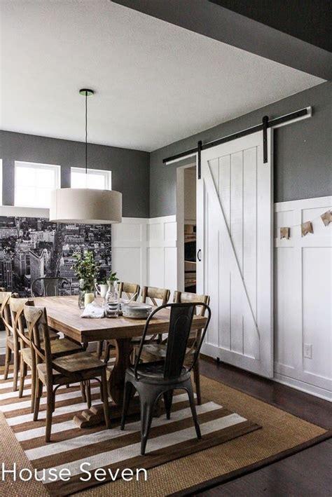 Formal Dining Room With Doors Best 20 Barn Door Tables Ideas On