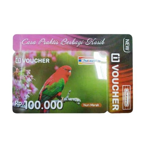 Voucher Indomaret Rp100 000 jual indomaret paket belanja indomaret physic voucher rp