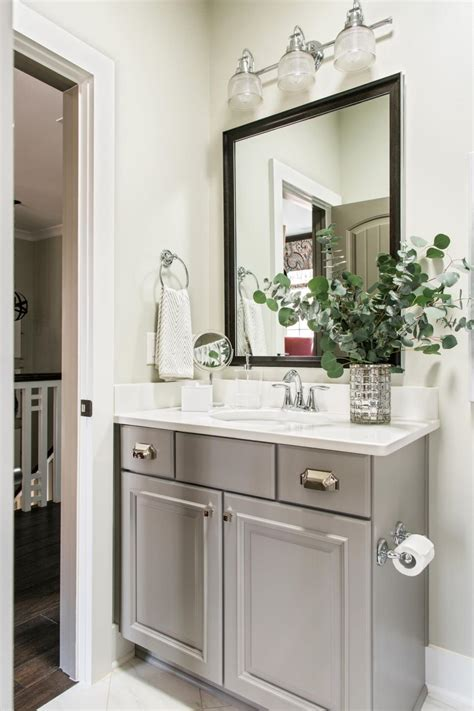hgtv bathroom vanities pictures of the hgtv smart home 2016 hall bathroom hgtv