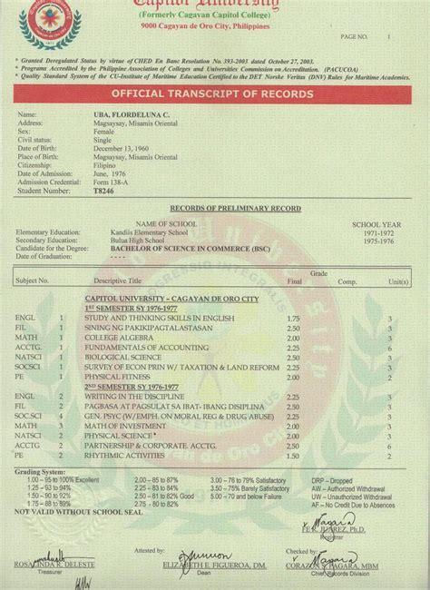 Cpa License And Criminal Record 10 Transcript Of Records 2