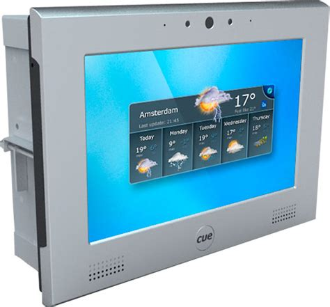 cue launch new cuenium2 in wall table top touchscreen