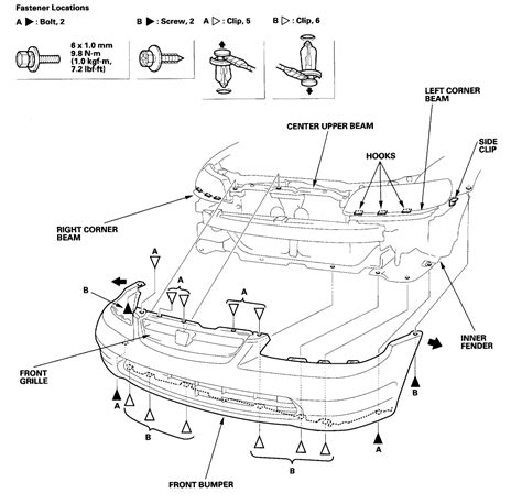 honda accord parts diagram 2001 honda accord diagrams honda auto parts catalog and