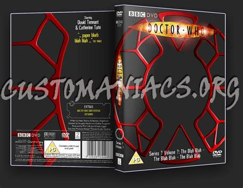 doctor who template forum cover label templates page 6 dvd covers