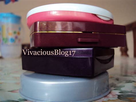 Fanbo Pressed Powder 72 4 vivacious my stack of compact powder