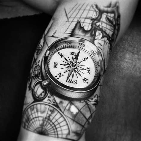tattoo compass 3d 25 best ideas about bussola tattoo on pinterest tatto