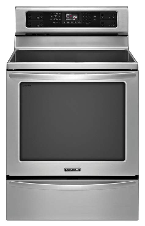 kitchenaid induction kitchenaid kirs608bss 6 2 cu ft induction range w even heat technology stainless steel