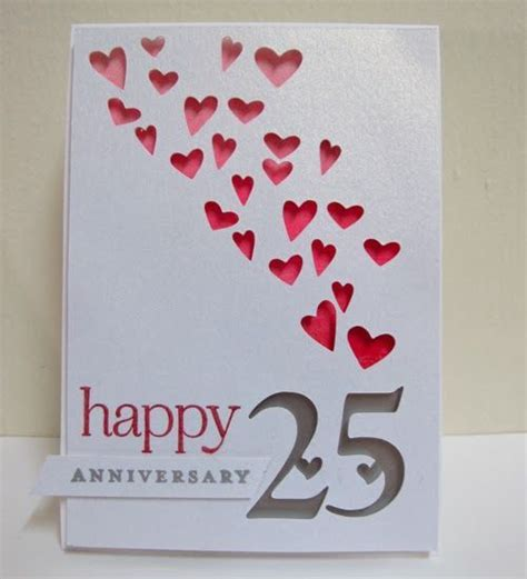 happy 25th anniversay cards   anniversary card