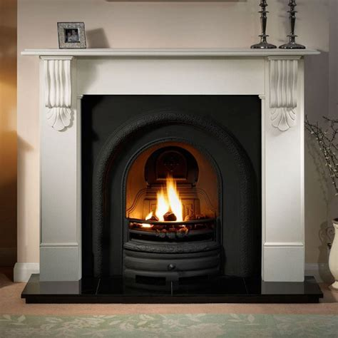 Fireplaces Kingston by Gallery Kingston Fireplace With Lytton Cast Iron Arch Fireplaces From Stores Direct