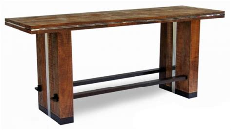 Pub Table Bench Bar Height Tables Rustic Bar Height