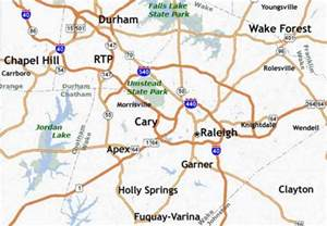 map of raleigh nc map travel holidaymapq