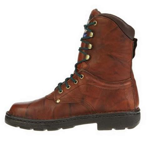 mens russet wildwood brown leather eagle light