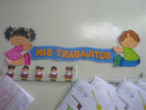 laminas para decorar la sala de clases nuestra sala de preescolar carteles para ambientar el