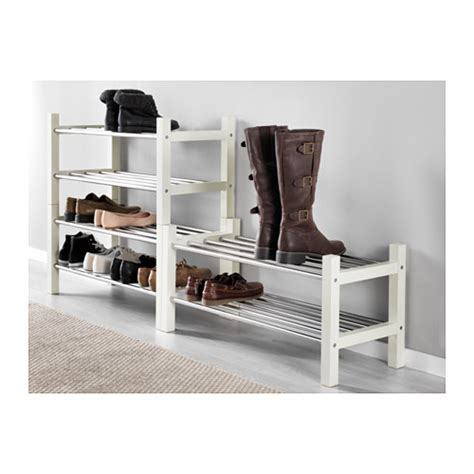 Shoes Rack Ikea by Tjusig Shoe Rack White 79 Cm Ikea