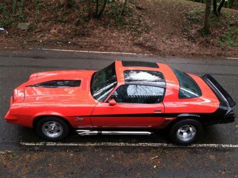 1981 camaro z28 value 1978 chevrolet camaro z28 t top manual built custom