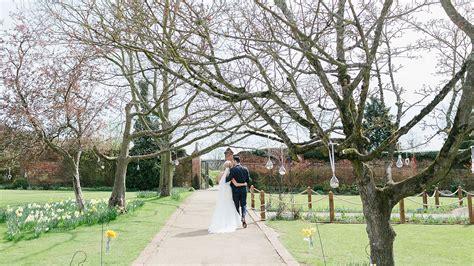 the walled garden wedding venue essex gaynes park