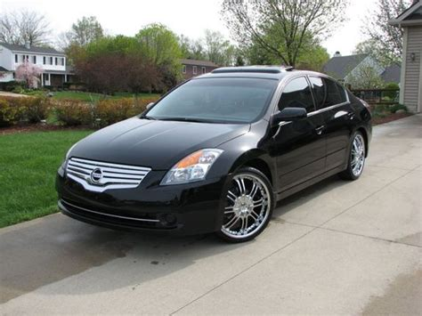 2008 nissan altima custom custom wheels 2008 nissan altima