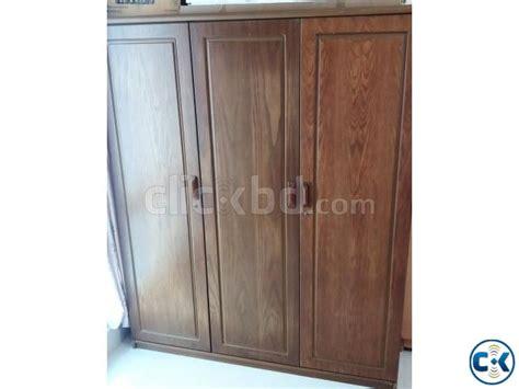 hatil bedroom furniture hatil wardrobe 3 door clickbd