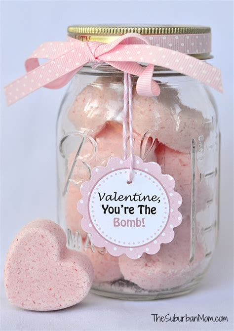 DIY Heart Bath Bombs Recipe With Free Tag Printables