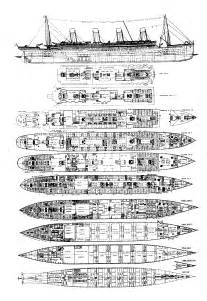 titanic floor plans titanic the ship s plans joeccombs2nd